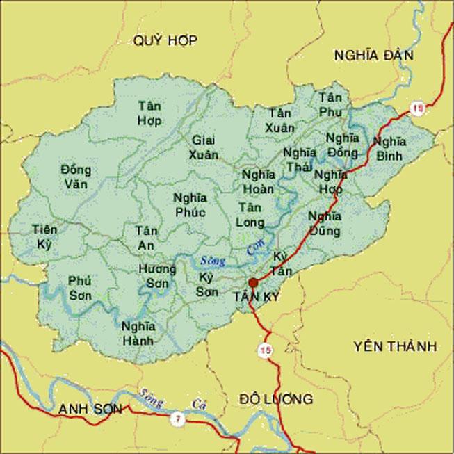 Nghệ An: Đầu tư xây dựng khu đô thị phía Tây thị trấn Tân Kỳ