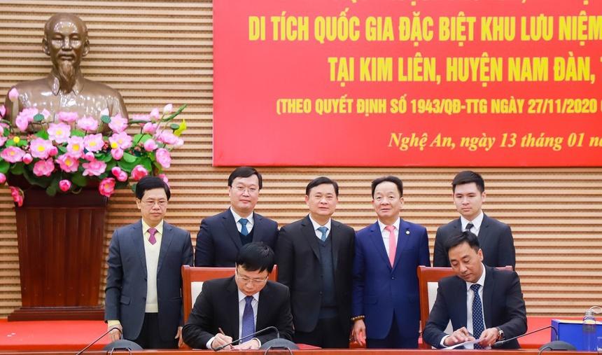 Nghệ An: Phê duyệt Quy hoạch Khu di tích Quốc gia đặc biệt Kim Liên