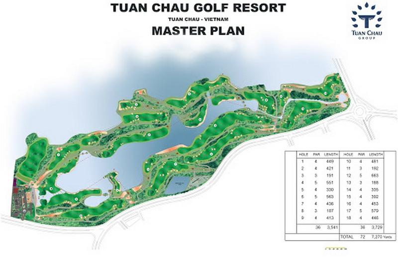 Quảng Ninh: Sân golf Tuần Châu Hạ Long chính thức đón khách vào tháng 6/2021
