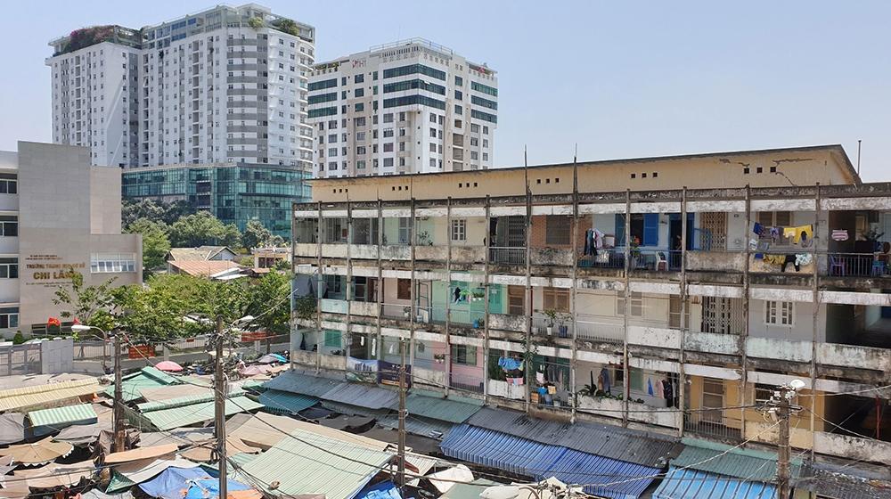 TP.HCM đề xuất thay đổi tỉ lệ sửa chữa và lựa chọn nhà đầu tư xây dựng lại chung cư