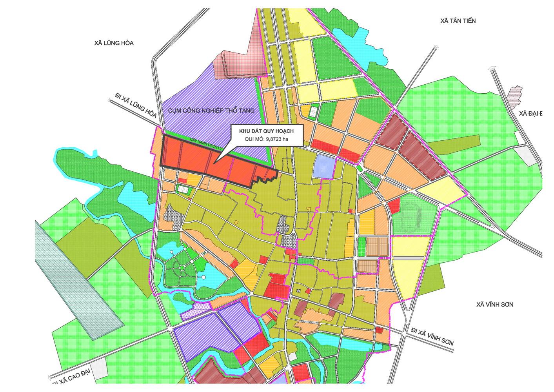 Vĩnh Phúc: Mời gọi đầu tư đối với dự án Khu đô thị mới tại huyện Vĩnh Tường