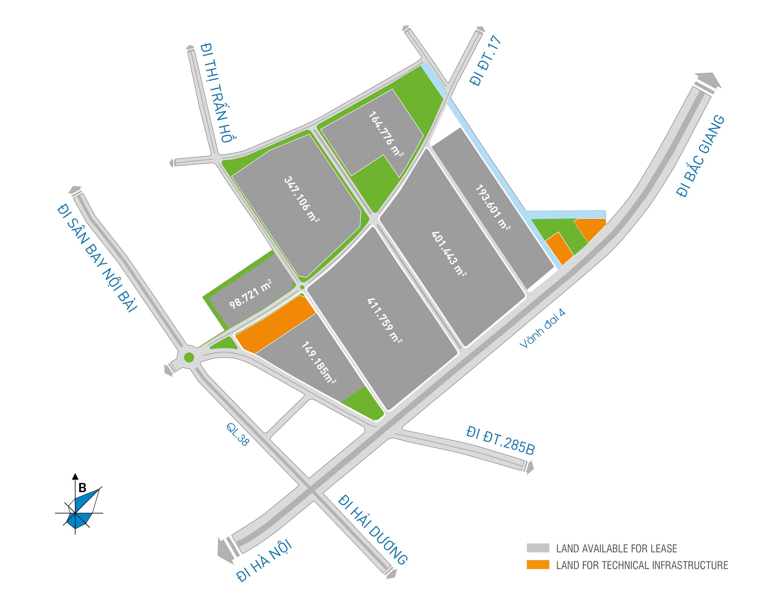 Bắc Ninh: Đầu tư xây dựng dự án Khu công nghiệp Thuận Thành I