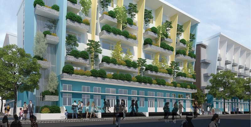 Ban hành tỷ lệ đất trồng cây xanh tối thiểu 20% trong nhóm nhà chung cư