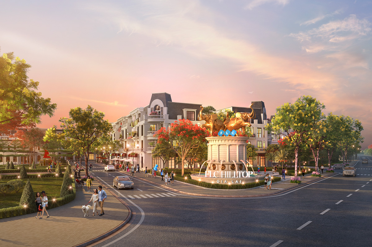 Dự án Khu đô thị mới FLC HillTop Gia Lai 4