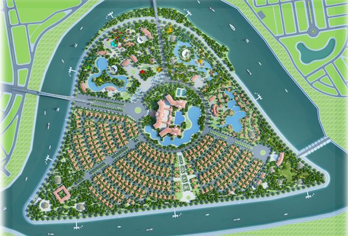 Quảng Ngãi sắp có Khu đô thị sinh thái Đảo Ngọc hơn 186ha