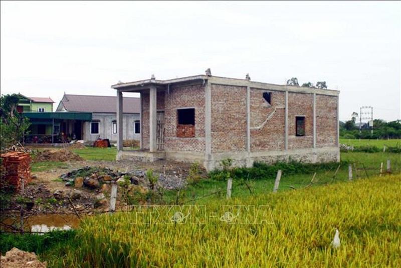 Xây nhà trên đất nông nghiệp có được bồi thường?