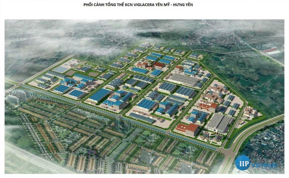 Hưng Yên: Đầu tư xây dựng Khu công nghiệp Yên Mỹ II mở rộng