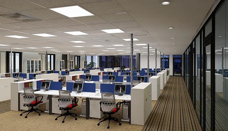 Trong đại dịch Covid-19, phân khúc văn phòng trở thành điểm sáng