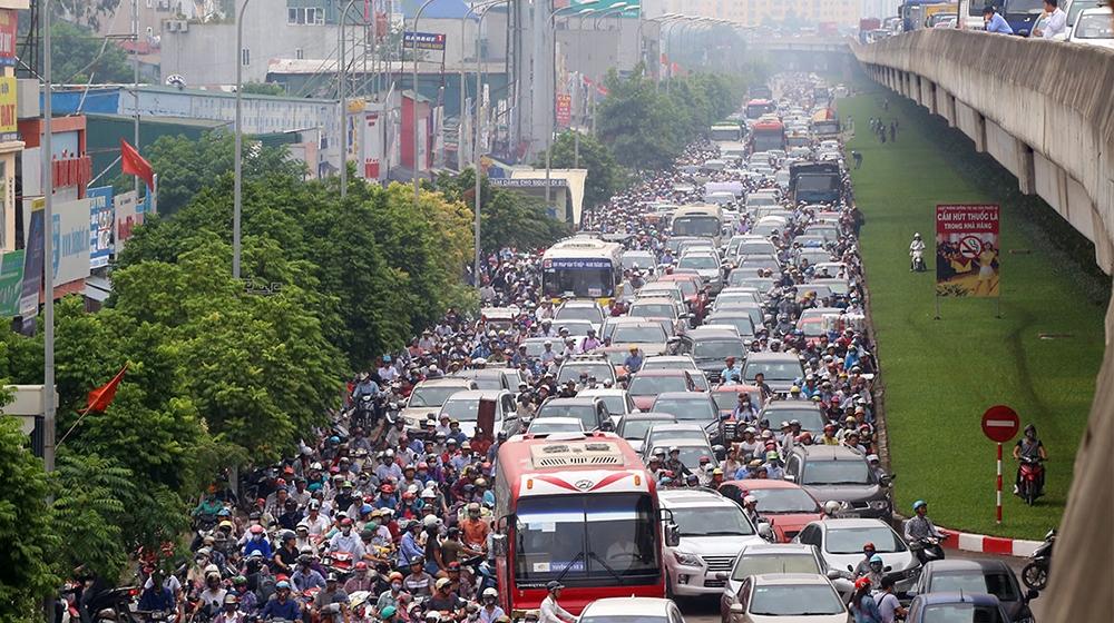 Hai tuyến đường thường xuyên ùn tắc tại Hà Nội chuẩn bị được mở rộng
