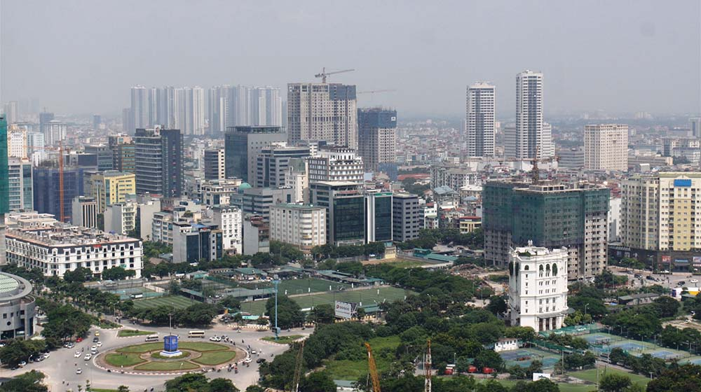 Thiếu vắng nguồn cung mới trên thị trường văn phòng Hà Nội