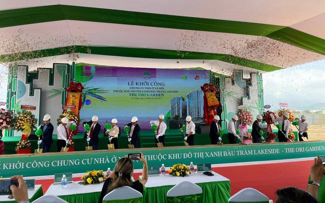 Đà Nẵng: Khởi công xây dựng dự án Nhà ở Xã hội The Ori Garden