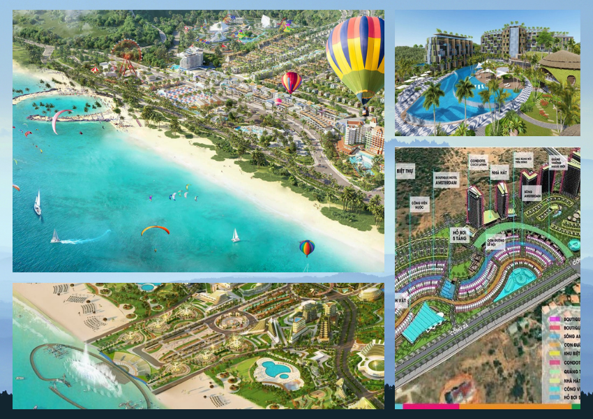 Danh sách dự án bất động sản nghỉ dưỡng Phan Thiết đang triển khai trong năm 2021