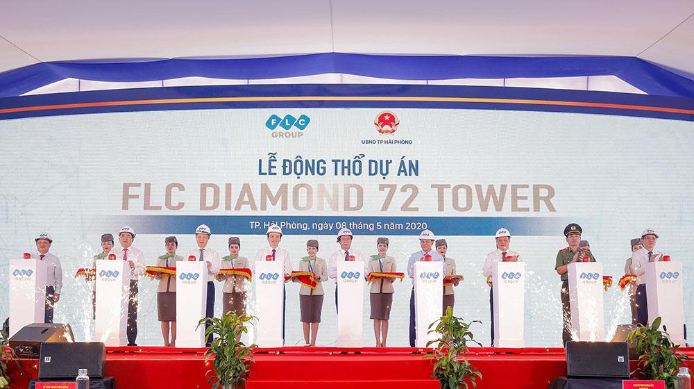 Dự án FLC Diamond Hải Phòng mới được động thổ có gì?