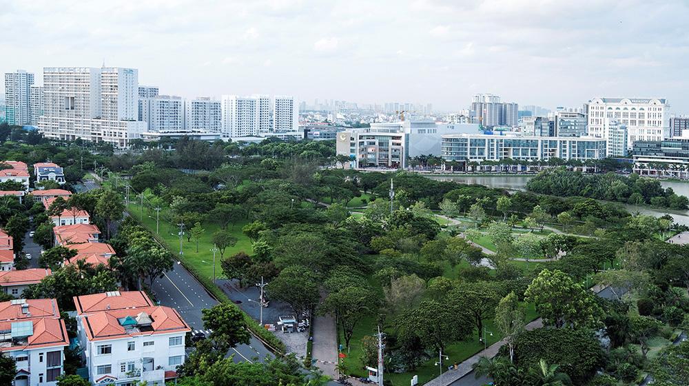 Thành phố Hồ Chí Minh phủ xanh thành phố bằng công viên