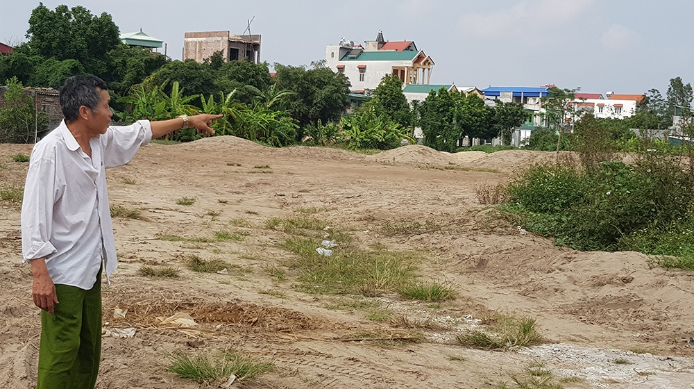 Thu hồi hơn 1,8 ha đất tại Nam Trung Yên