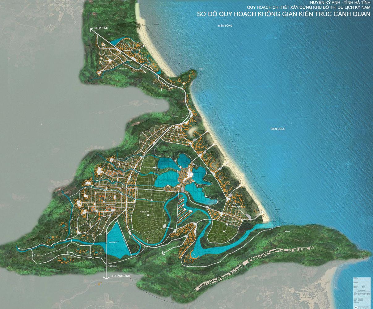 VNT xin làm dự án khu đô thị du lịch 4.000 tỷ đồng tại Hà Tĩnh