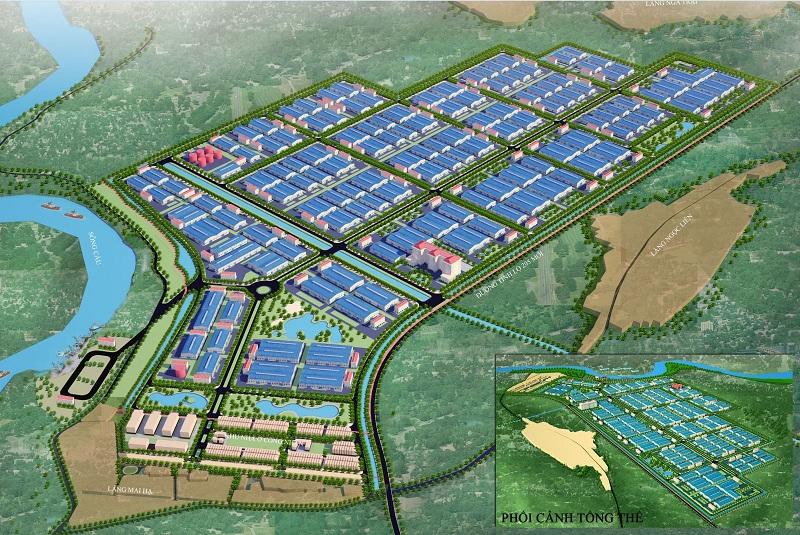 Bắc Giang bổ sung 2 khu công nghiệp hơn 1.300ha vào quy hoạch tổng thể