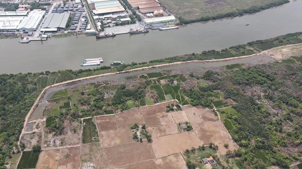 Khu công nghiệp gần 120ha tại Long An được tái khởi công