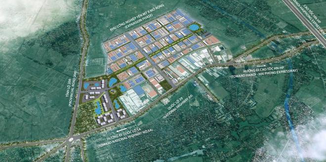 Hưng Yên: Hoà Phát mở rộng Khu công nghiệp Phố Nối A với hơn 1000 tỷ đồng