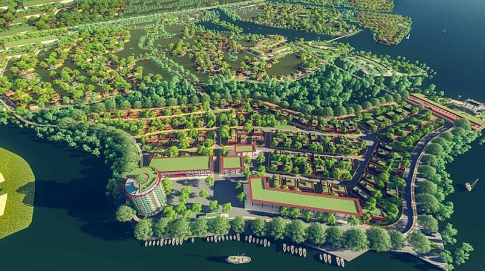 Đấu giá hơn 33ha đất thuộc Khu đô thị và du lịch sinh thái Diêm Vân