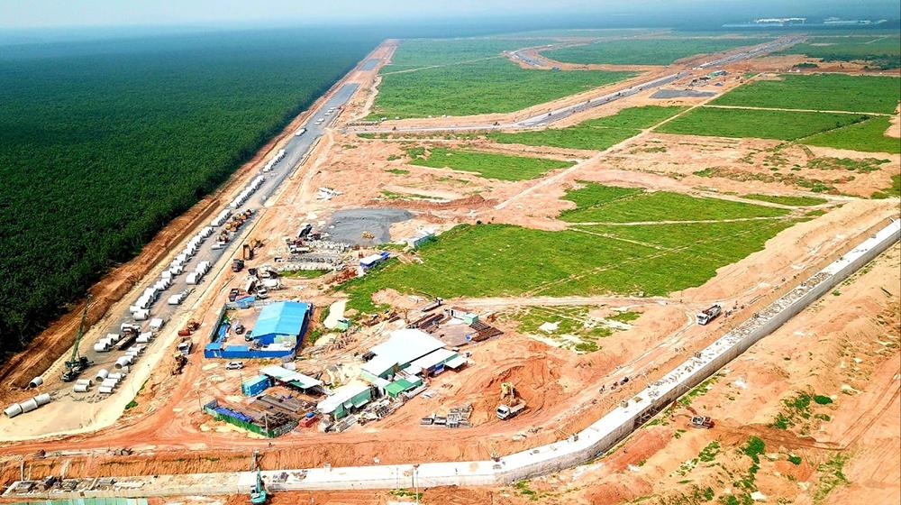 Sân bay Long Thành: Tổ chức đấu thầu và thi công san lấp nền trong 2 tháng tới