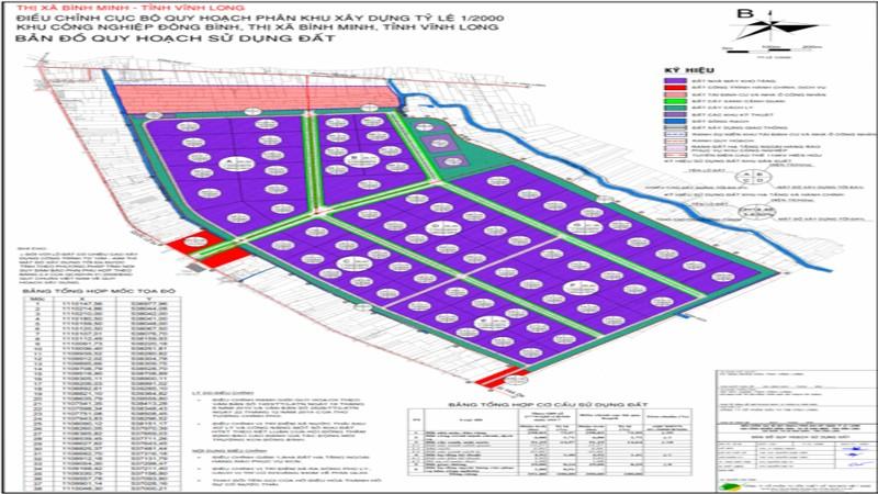 Vĩnh Long sẽ có khu tái định cư cho 250 hộ dân bị thu hồi đất để làm KCN Đông Bình