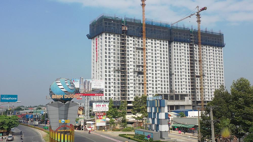 Vùng ven Sài Gòn bùng nổ căn hộ 1 tỷ đồng