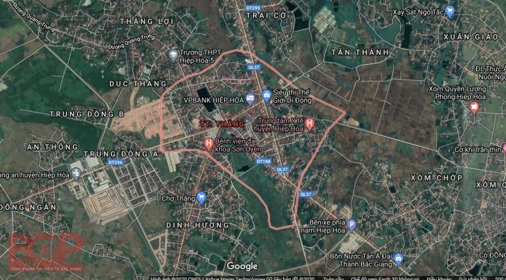 Bắc Giang: Điều chỉnh cục bộ quy hoạch khu dân cư số 1
