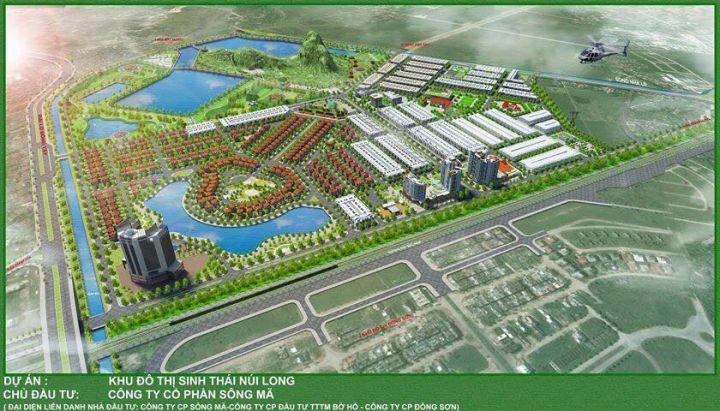 Gia hạn thời gian thực hiện Khu đô thị Núi Long tại Thanh Hoá
