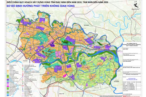 Bản đồ quy hoạch Bắc Ninh cập nhật chi tiết và và đầy đủ nhất