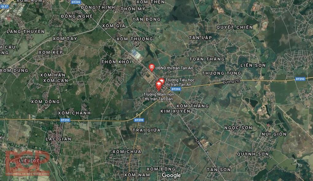 Bắc Giang: Phê duyệt đồ án Quy hoạch 2 khu đô thị rộng hơn 110ha