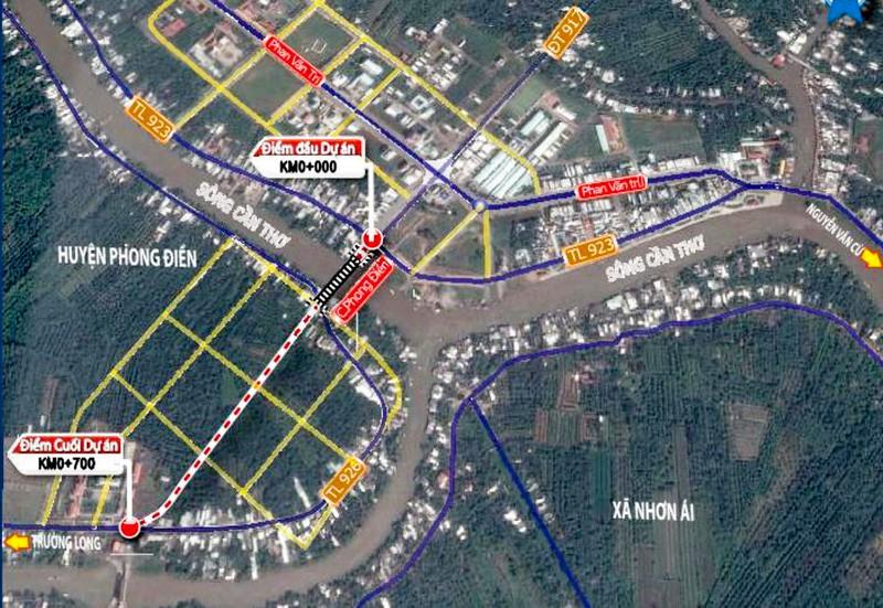 Cần Thơ: Sắp có thêm công trình giao thông trọng điểm