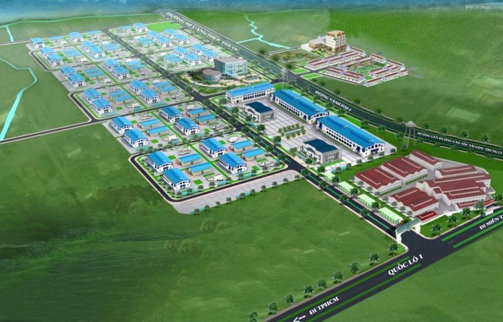 Long An: Phê duyệt đồ án quy hoạch phân khu Khu công nghiệp Phúc Long mở rộng