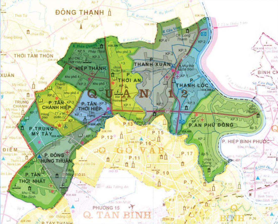 TP.HCM: 3 lý do nên mua nhà đất quận 12