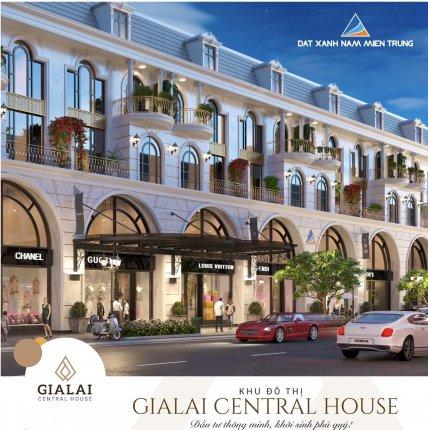 Dự án Khu đô thị mới GiaLai Central House 1