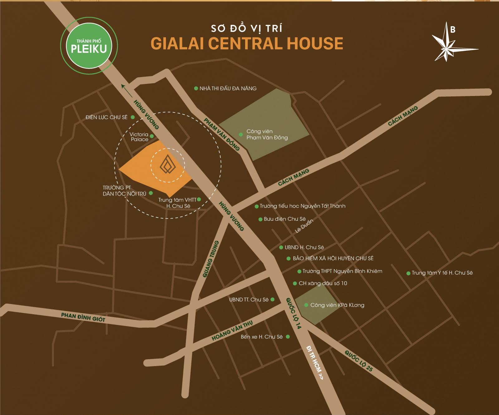 Dự án Khu đô thị mới GiaLai Central House 5