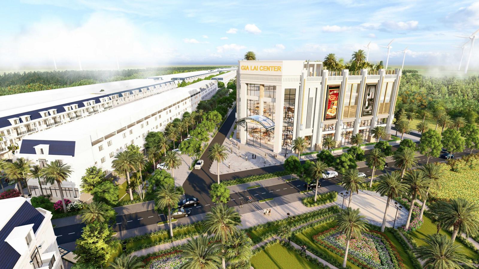 Dự án khu đô thị mới Gia Lai New City 4