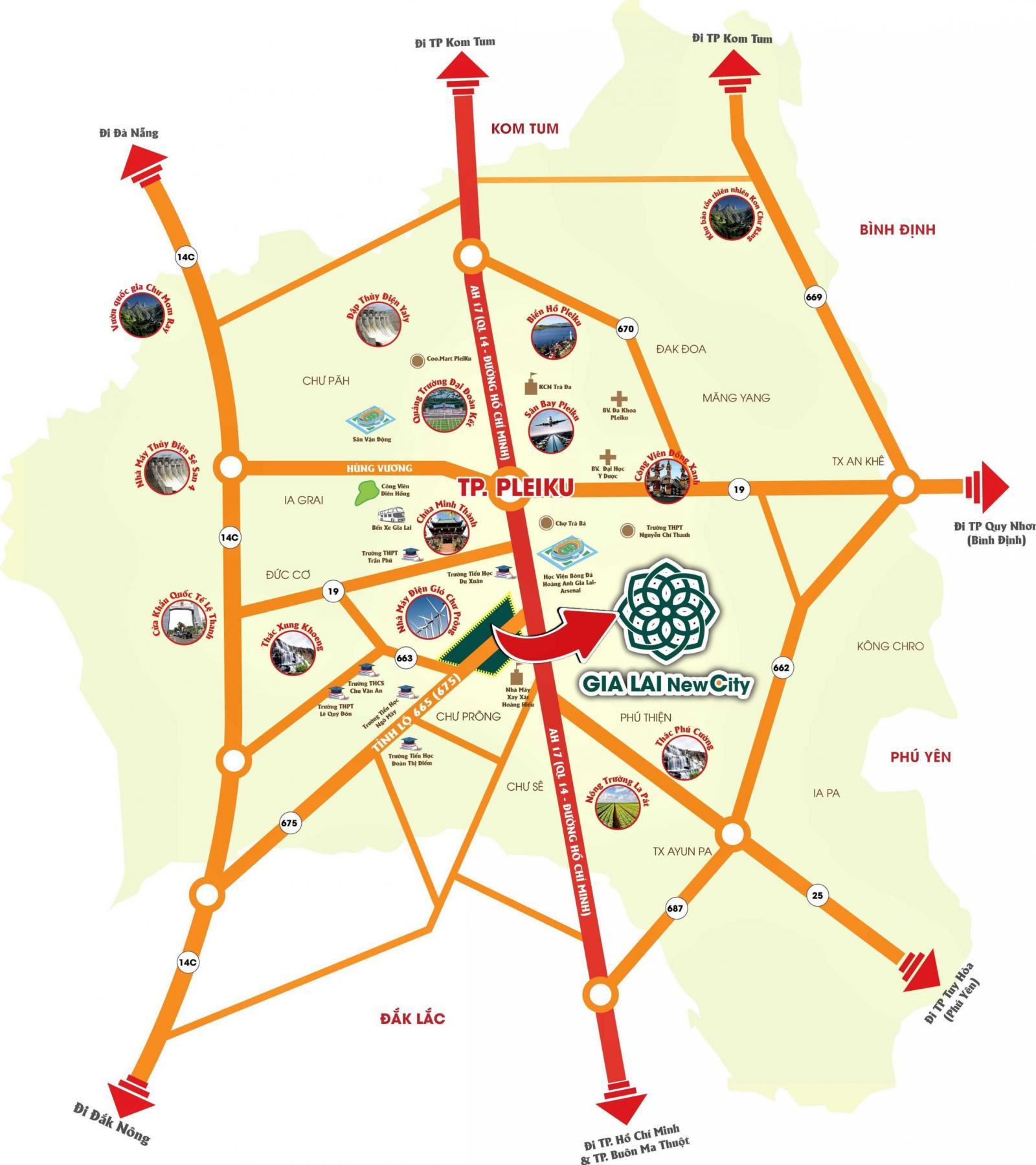 Dự án khu đô thị mới Gia Lai New City 10