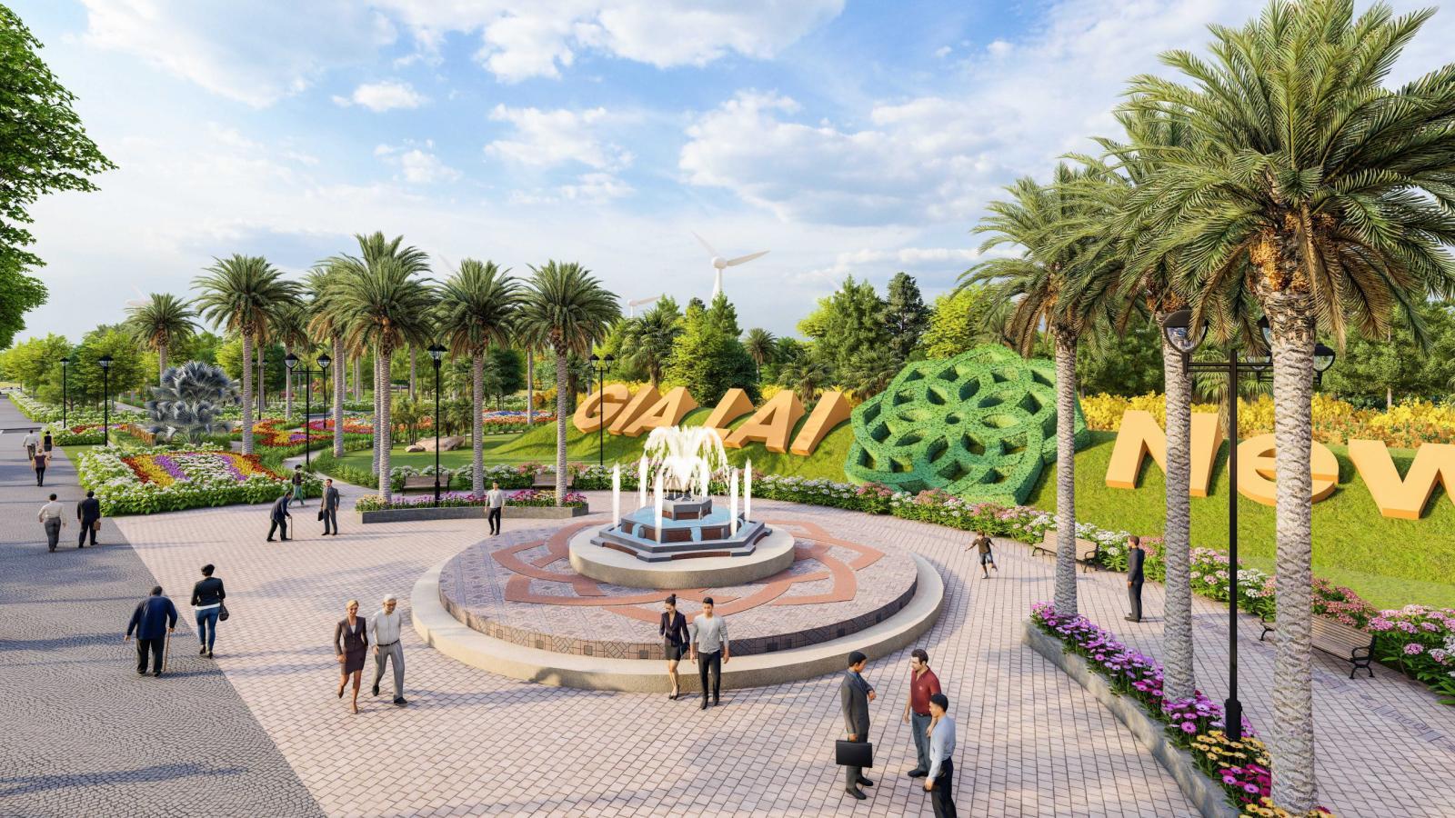 Dự án khu đô thị mới Gia Lai New City 9
