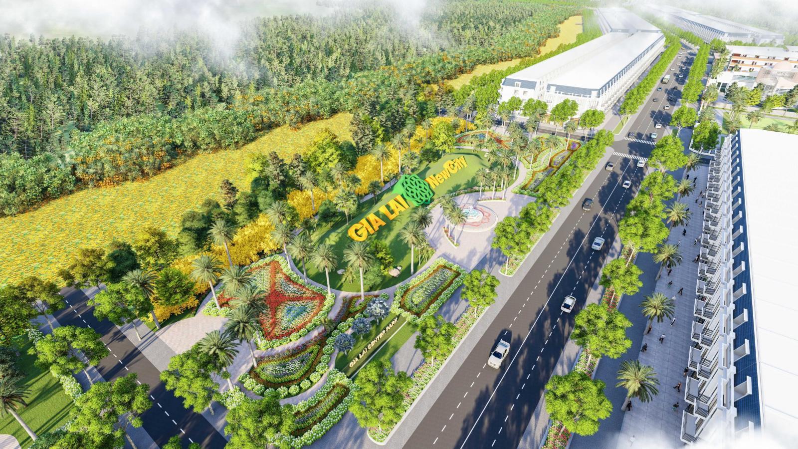 Dự án khu đô thị mới Gia Lai New City 8