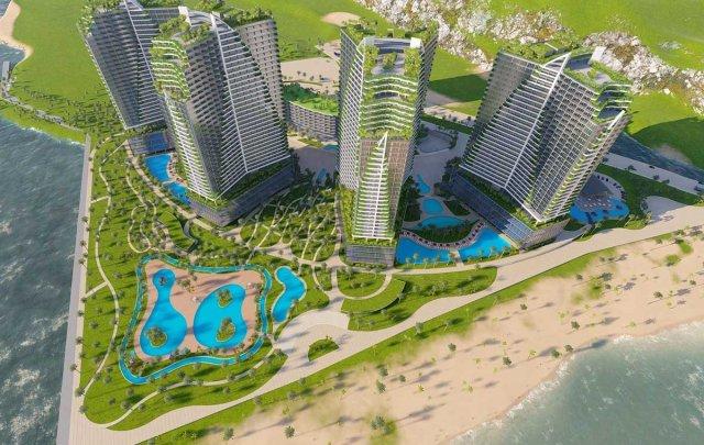 Dự án khu phức hợp Ninh Chữ Sailing Bay 4