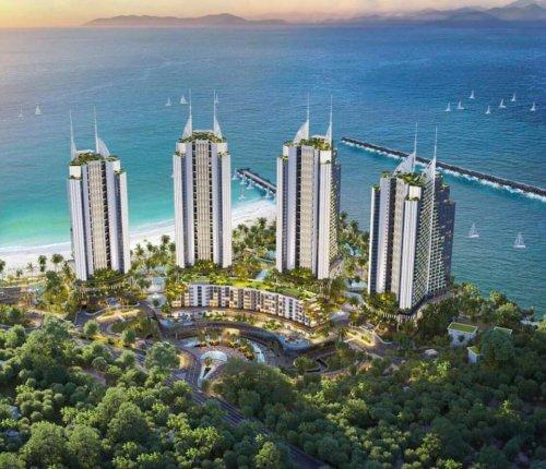 Dự án khu phức hợp Ninh Chữ Sailing Bay 5
