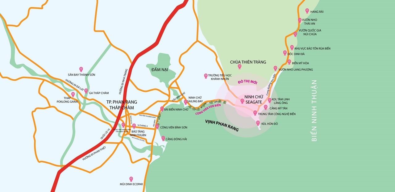 Dự án khu phức hợp Ninh Chữ Sailing Bay 2