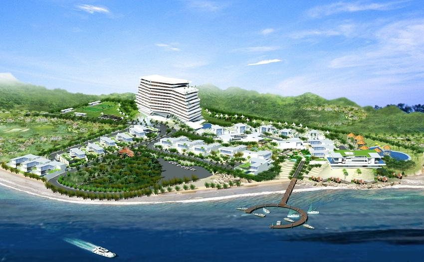 Vũng Tàu đổi chủ đầu tư dự án 5ha Khu du lịch Hồng Quang - Long Hải