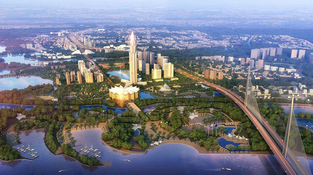 """Đông Anh: """"Siêu"""" dự án Thành phố thông minh chậm tiến độ do giải phóng mặt bằng"""