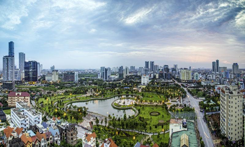 Hà Nội: Đẩy nhanh quá trình 5 huyện lên quận