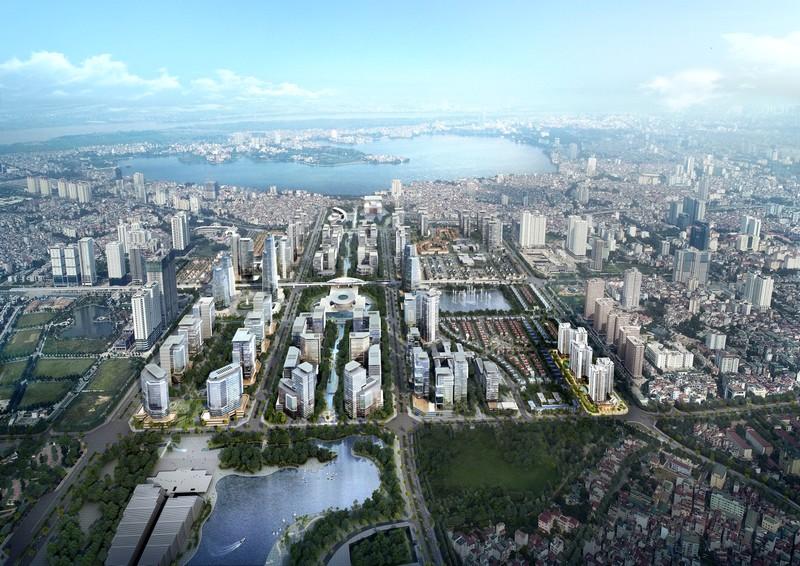 Hà Nội: Phê duyệt điều chỉnh cục bộ Quy hoạch chi tiết khu vực trung tâm Khu đô thị Tây Hồ Tây