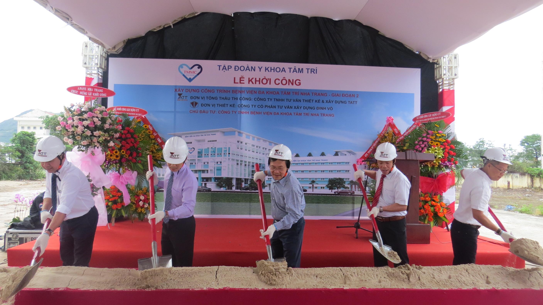 Khánh Hoà: Bệnh viện Đa khoa Tâm trí Nha Trang khởi công giai đoạn 2