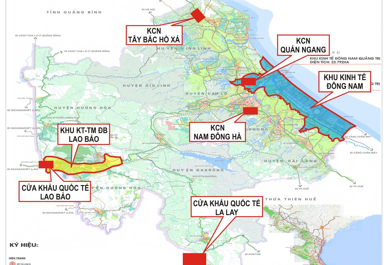 Quảng Trị: Thêm khu công nghiệp thứ 6 với diện tích 497ha
