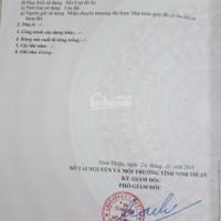 Chính chứ cần bán lô đất đường Minh Mạng DT: 45x18(81m2) P Đô Vinh, TP Phan Rang Tháp Chàm